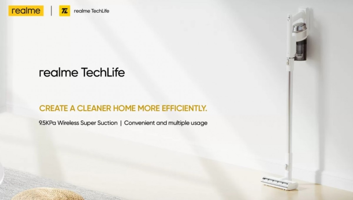 Realme TechLife Air Purifier and Vacuum Cleaners launching on September 30 in India