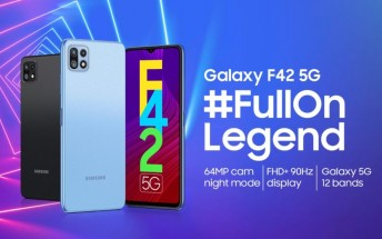 Galaxy F42 5G confirmed to arrive on Sept 29, design and key specs revealed