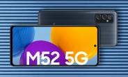 Samsung Galaxy M52 5G listed  by Polish retailer