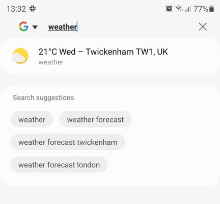 The Samsung Internet 16 browser is improving the usability of the address bar
