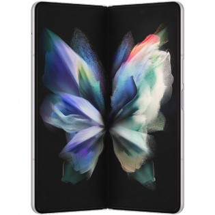 Galaxy Z Fold3 5G (official image in silver)