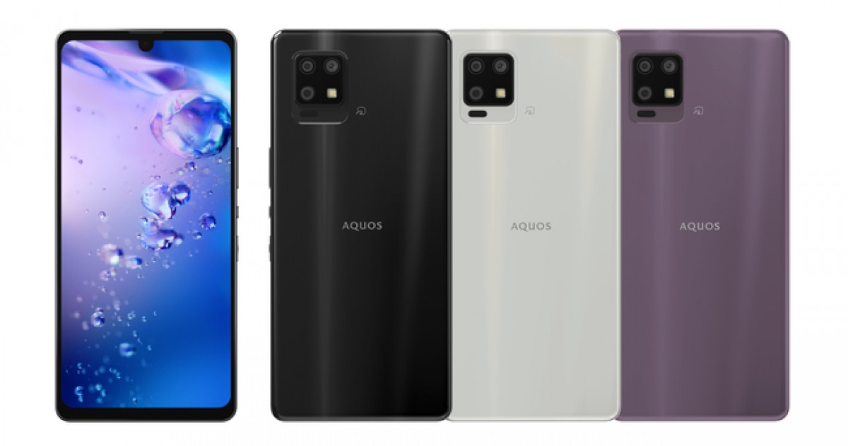The Sharp Aquos zero6 is one of the lightest 5G smartphones in the world