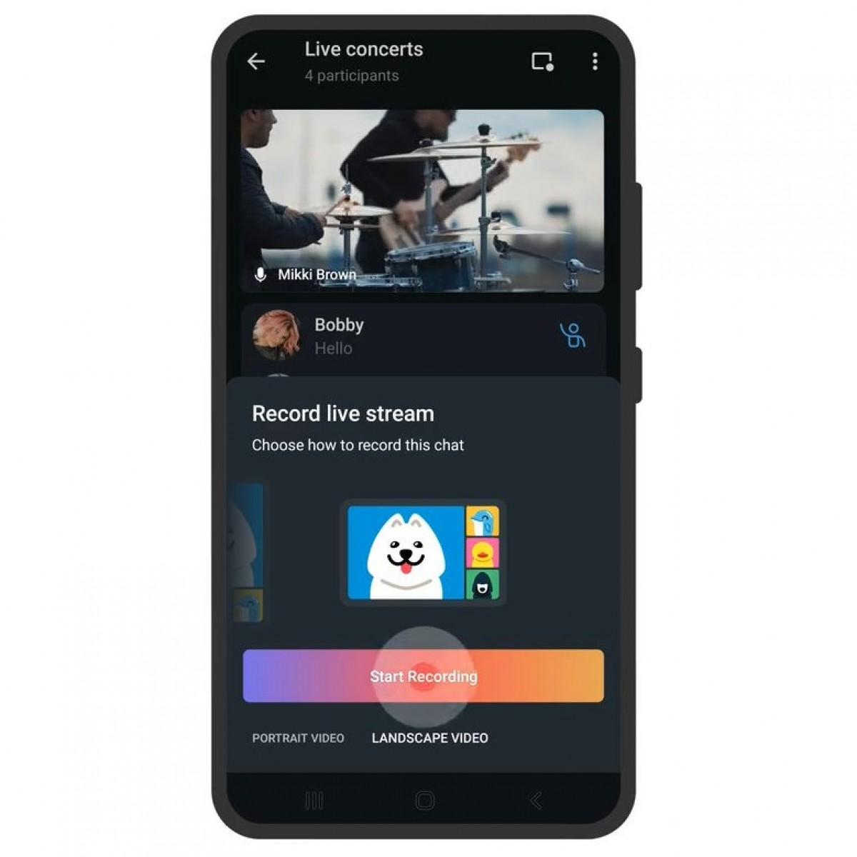 Telegram update adds chat themes, interactive emoji, and read receipts in groups