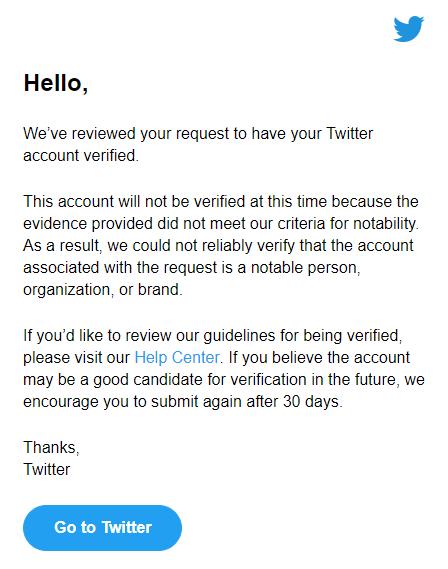 Why GSMArena's Twitter account isn't verified