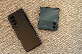 Samsung Galaxy Z Fold3 5G and Z Flip3 5G: Folded