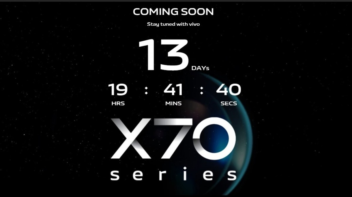 vivo X70 Pro and X70 Pro+ are launching in India on September 30