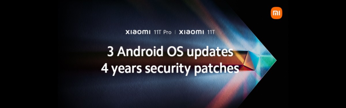 Xiaomi 11T and 11T Pro will get three Android upgrades and four years of security patches