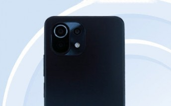 Xiaomi CC11 photos also appear on TENAА [Update: It could be the Mi 11 Lite NE]