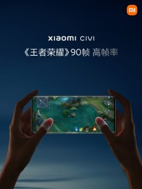 The Xiaomi Civi is powered by the Snapdragon 778G