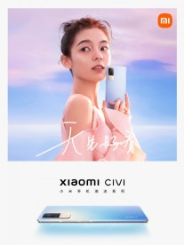 Xiaomi Civi's official teaser posters