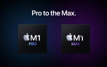 Apple M1 Max inside the new MacBook Pro 16