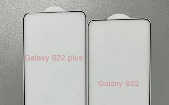 Samsung Galaxy S22 and S22+ leak hints at wider displays with almost no bezels