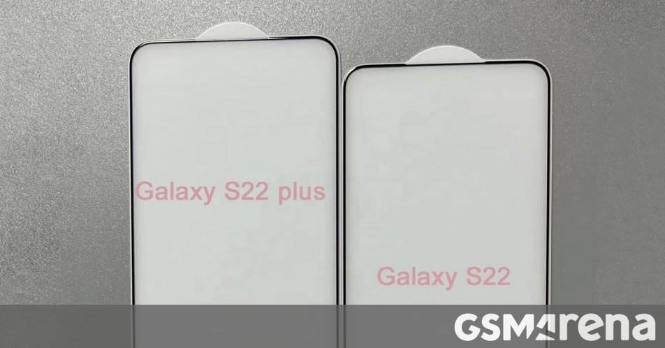 Samsung Galaxy S22 and S22+ leak hints at wider displays with almost no bezels thumbnail