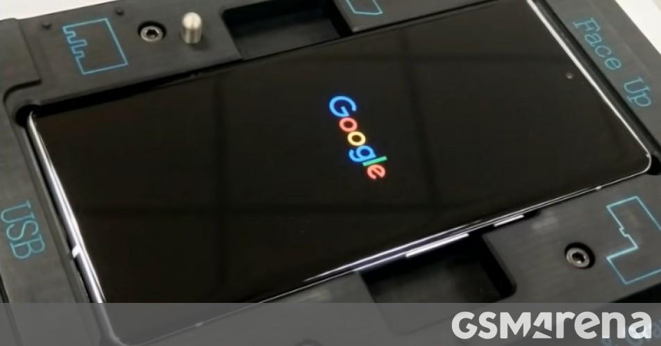 Google Pixel 6 Pro assembly video leaks