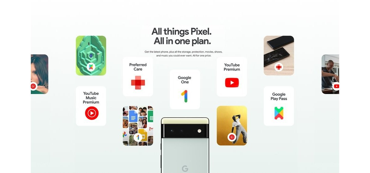 Google Pixel Pass gets you a Pixel 6 or 6 Pro and a bunch of services from  per month