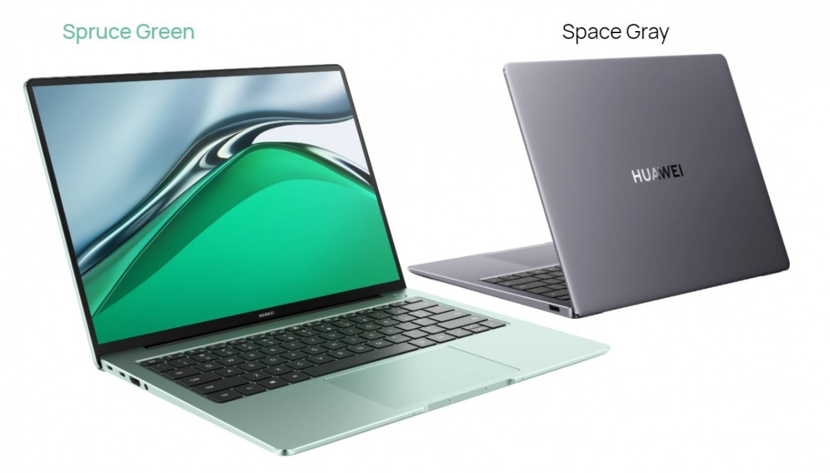 The Huawie MateBook 14s features a 90 Hz 14.2'' touchscreen, 11th gen Intel i5 or i7 processor