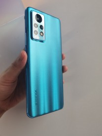 An Infinix phone that is yet to be announced, possibly a new Note model