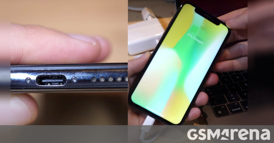 iPhone X outfitted with working USB-C port in spectacular DIY project thumbnail