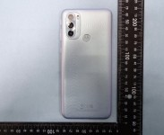 Moto G31 in Black and Silver