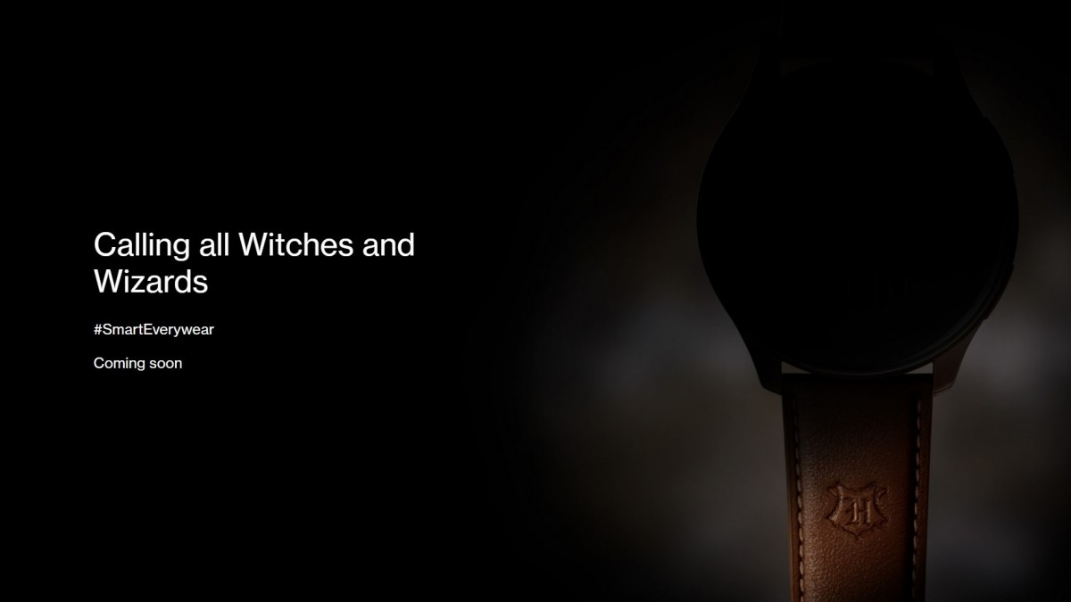 OnePlus Watch Harry Potter Edition is coming soon