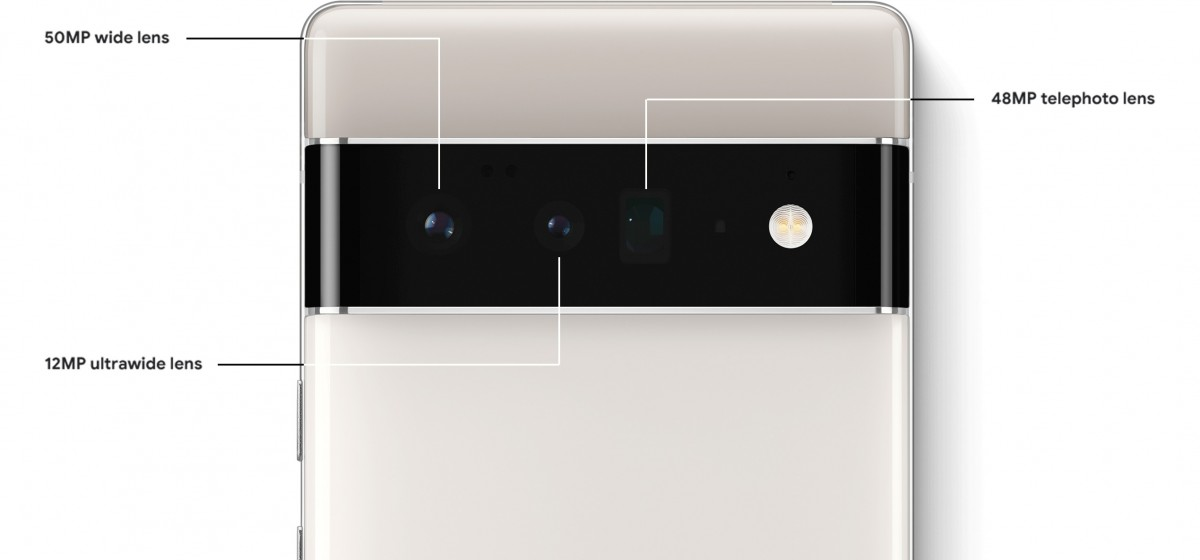 A cache of Pixel 6 images leaks, confirming features we already knew about