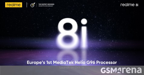Realme will bring the 8i to Europe this month thumbnail