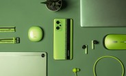 realme_book_slim_pad_watch_t1_wireless_mouse_green_color_launch_teaser