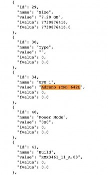 Realme Q3s con Snapdragon 778G ejecutando Geekbench