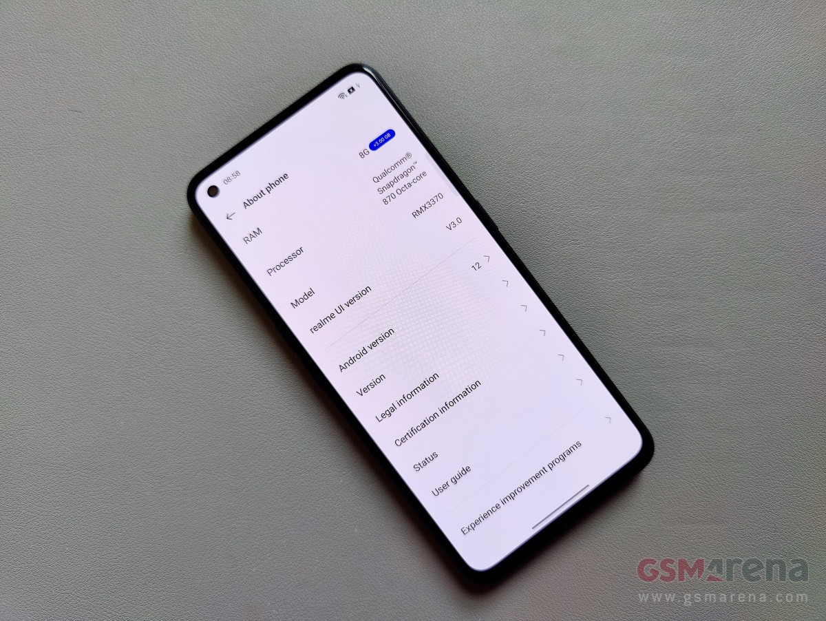 Realme UI 3.0 with Android 12 comes on October 13, Realme GT first to get it
