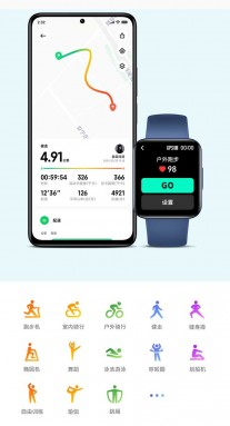 Redmi Watch 2: GPS tracking