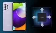 Latest Samsung Galaxy A52 update enables RAM Plus