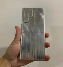 Unidad ficticia Samsung Galaxy S22 Ultra (imágenes: xleaks7 x CoverPigtou)