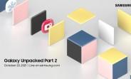 Surprise, surprise: Samsung announces a Galaxy Unpacked Part 2 event for October 20
