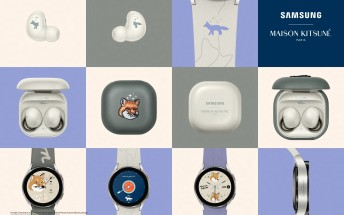 Samsung and Maison Kitsuné team up for limited edition Galaxy Watch4 and Buds2
