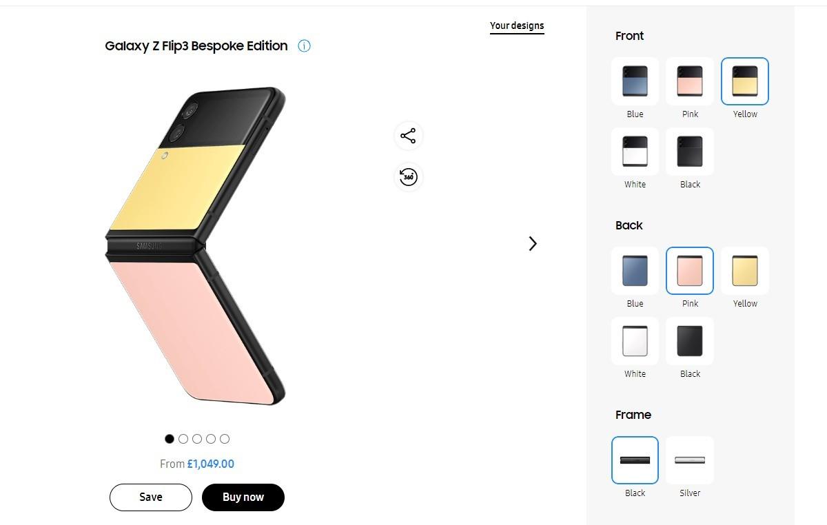 Samsung unveils Galaxy Z Flip3 and Watch4 series Bespoke Edition