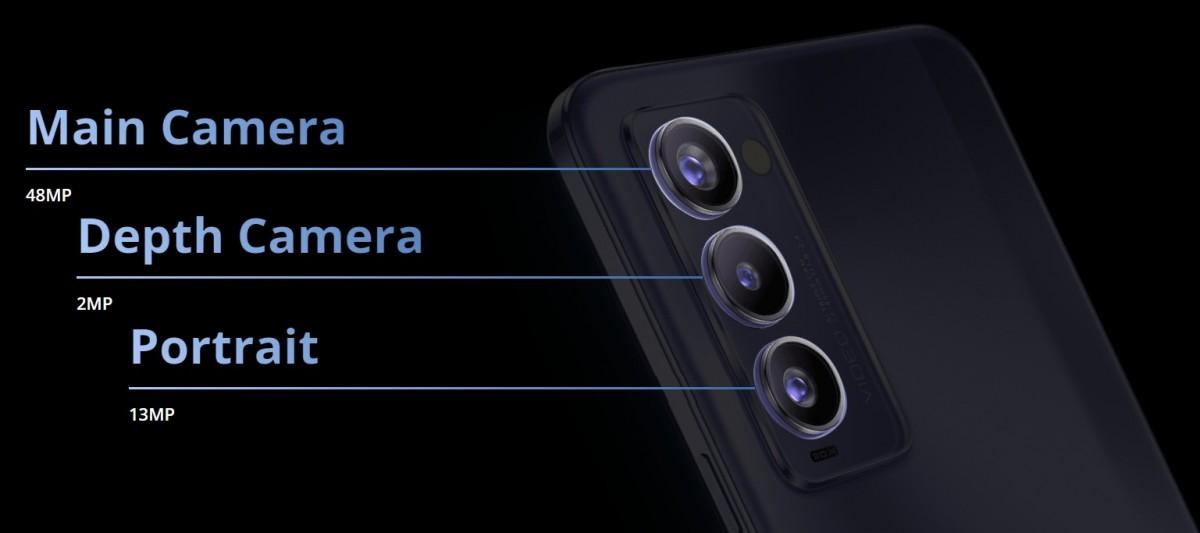 Tecno Camon 18P ma również ekran 120 Hz i układ Helio G96, Camon 18 stawia na 90 Hz