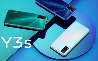 New vivo Y3s launched in India: a cheap Helio P35 phone with a large 5,000 mAh battery