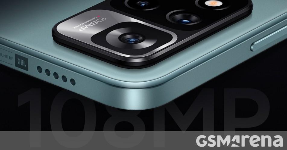 Xiaomi to bring 108 MP camera to Redmi Note 11 series - GSMArena.com news - GSMArena.com