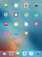 Apple Ipad Pro review: Homescreen
