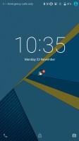 Blackberry Priv review: Standard lockscreen