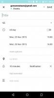 Blackberry Priv review: BlackBerry calendar app