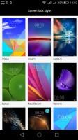 Lockscreen graphics controls - Huawei G8 review