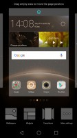 The overview mode - Huawei G8 review