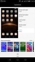 Powerful Theming engine with an online store - Huawei G8 review