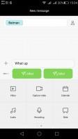 The standard messaging app - Huawei G8 review