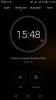 Clock - Huawei G8 review