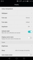 Huawei Mate S review: Display and lockscreen options