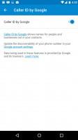 Making calls through the stock dialer app is pleasant - Huawei Nexus 6p review