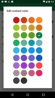 Google's SMS app offers simple texting with customizable contact color schemes - Huawei Nexus 6p review