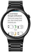 Huawei Watch review: Only the two original gestures are available on the Huawei Watch yet